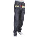 RMC X 4A Version 5 1001 Model Gold Embroidered Like Black Monster Rider FM Union Indigo Raw Denim Jeans RMC1939