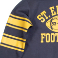 Cheswick Long Sleeved Crew Neck CH64089 College Football Sweatshirt in Navy CANE2845