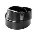 Boss Black Label mens Connio 50224631 black Hugo Boss leather belt BOSS4407