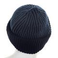 Stone Island mens navy rib knit 611N09C6 beanie hat SI4080