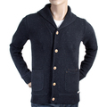 Scotch & Soda mens recycled denim 1306 06 60028 buttoned cardigan SCOT2137