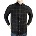 Carhartt mens black 1012683 8 Shelby check long sleeve shirt CARH3192