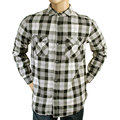 Armani Jeans mens black and grey check U6CO5 NM long sleeve shirt AJM1986