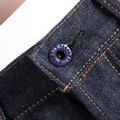 RMC Model 1011 Slim Cut Multi Colour Large Tsunami Wave Embroidered Japanese Selvedge Denim Jeans RMC3745