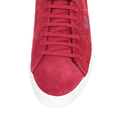 Fred Perry shoes red Howells unlined trainers B4211 FPRY3597