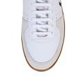 Fred Perry shoes white Trentham leather and suede trainers B4227 FPRY4188