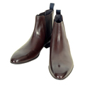 Hugo Boss mens Nevall 50271594 brown leather chelsea boots BOSS4410