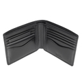 Hugo Boss mens Olivieri 50273751 black leather wallet gift set BOSS4402