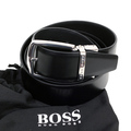 Hugo Boss mens Oros CN 50261719 fully reversable boxed leather belt BOSS4404