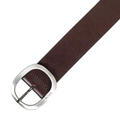 Hugo Boss mens Sannios 50273529 brown leather belt BOSS4406
