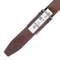 Hugo Boss mens Ektoro 50248644 brown leather belt BOSS3469