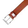 Hugo Boss mens Connio 50224631 tan leather belt BOSS4408