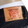 RMC Jeans Indigo Selvedge Raw Embroidered No Music No Life 1011 Japanese Denim Jeans RMC4125