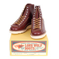 Lone Wolf Mens Brown Calf Leather F01616 Goodyear welted US Oiled Cowhide High Lace Up Hunter Work Boots CANE4475