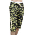 RMC RQR14033 MKWS Green Tiger Camo Pattern Sport Cotton Jersey Shorts For Men REDM4413