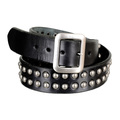 Garrison Leather Belt in Black for Men from Sugar Cane CANE5725