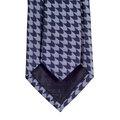 Jacquard Arrow Patterned Blue Grey Woven Silk Tie by Giorgio Armani GAM5103