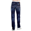 Washed and Lived In J91 Mens Denim Jeans with Fading by Armani Jeans AJM4633