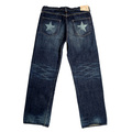 SugarCane Selvedge 14oz Denim Lone Star SC40902H Wash 5 Year Aged Vintage Jeans with Button Fly CANE6510