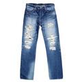 Japanese Selvedge 14 oz Denim 1 Star 10 Year Aged Wash SC41501R Slim Fit Jeans for Men by SugarCane CANE6511