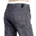Armani Mens Slim Fit J06 Grey Denim Jeans with a Low Waist Tight Leg and Zip Fly AJM5974