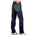 RMC Jeans Genuine Super Exclusive Red Star Dark Indigo Raw Selvedge 1001 Model Jeans REDM0016
