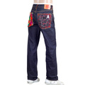 RMC Martin Ksohoh Genuine Exclusive Fuji Mountain Embroidered Vintage Cut Selvedge Raw Denim Jeans REDM0063