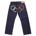 RMC Jeans Super Exclusive McDonalds Limited Edition Vintage Cut 2008 BEIJING OLYMPICS Raw Denim Jeans REDM0133