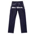 RMC Martin Ksohoh Exclusive Silver 4A Like Black Embroidered Indigo Vintage Raw Selvedge Denim Jeans REDM2904