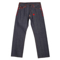 RMC Martin Ksohoh Exclusive Genuine Red 4A Star Embroidered Indigo Vintage Raw Selvedge Denim Jeans REDM2908