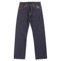 RMC Jeans Authentic Super Exclusive SENSOUKIRAI Embroidered Vintage Dark Indigo Raw Selvedge Jeans REDM9069