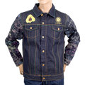 Yoropiko Martin Yat Ming Exclusive Limited Edition Raw Selvedge Fudoumyouou Denim Jacket YORO9175