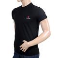 Dsquared Black Cotton Short Sleeve Crew Neck Logo T Shirt in Regular Fit for Men DS26291