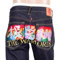 RMC Martin Ksohoh Exclusive Limited Edition Warlords Embroidered Vintage Cut Selvedge Raw Denim Jeans REDM0055