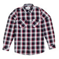 Carhartt Long Sleeve Labor Black Reynolds Checked Shirt with 2 Chest Pockets and Pearlised Buttons CARH5622