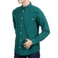 Carhartt Cotton Dalton Regular Fit Parsley Long Sleeve Shirt for Men with Soft Button Down Collar CARH5620