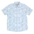 Carhartt Short Sleeve Regular Fit Hidden Button Down Collar Gary Apache Print Shirt for Men CARH4967