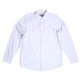 Carhartt White Dalton Oxford Regular Fit Long Sleeve Flannel Shirt for Men with Single Chest Pocket CARH6827