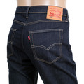 Levis 522 Big Blend Dark Blue Low Waist Zip Fly Slim Tapered Fit Denim Jeans for Men LEVI6497