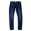 Versace Classic Dark Indigo Wash with Slight Fading Stretch Skinny Fit Jeans for Men VERS6707