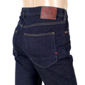 Mens Skim Skinny Stretch 135093 Dark Indigo Jeans with Zip Fly by Scotch & Soda SCOT7288