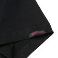 RMC Jeans Black Crew Neck Short Sleeve Regular Fit T-Shirt with Half Monkey Prints REDM0024