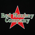 RMC Jeans Black Crew Neck Short Sleeve Regular Fit T-Shirt with Red Star Print REDM0038