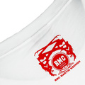 RMC Jeans White 100% Cotton Regular Fit Short Sleeve Crew Neck T-shirt with Enjoy RMC Print REDM3479