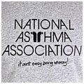 RedDot t-shirt \'National Asthma Association\' short sleeve t-shirt