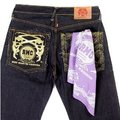RMC Jeans 100% Cotton Mens Printed Light Purple Bandana RMC Jeans2937
