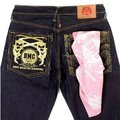 RMC Jeans 100% Cotton Mens Printed Pink Bandana RMC Jeans2933