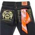 RMC Jeans 100% Cotton 01 Mens Orange Printed Bandana REDM2913