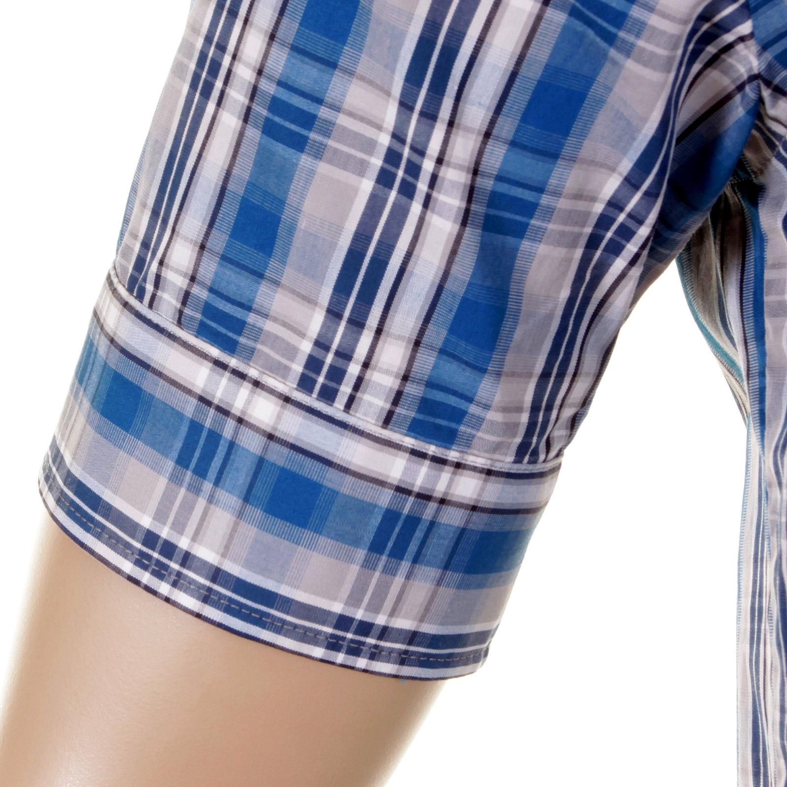 8cad3a7bd Hugo Boss mens casual shirt Rodolf 50148930 check shirt BOSS0520 at ...