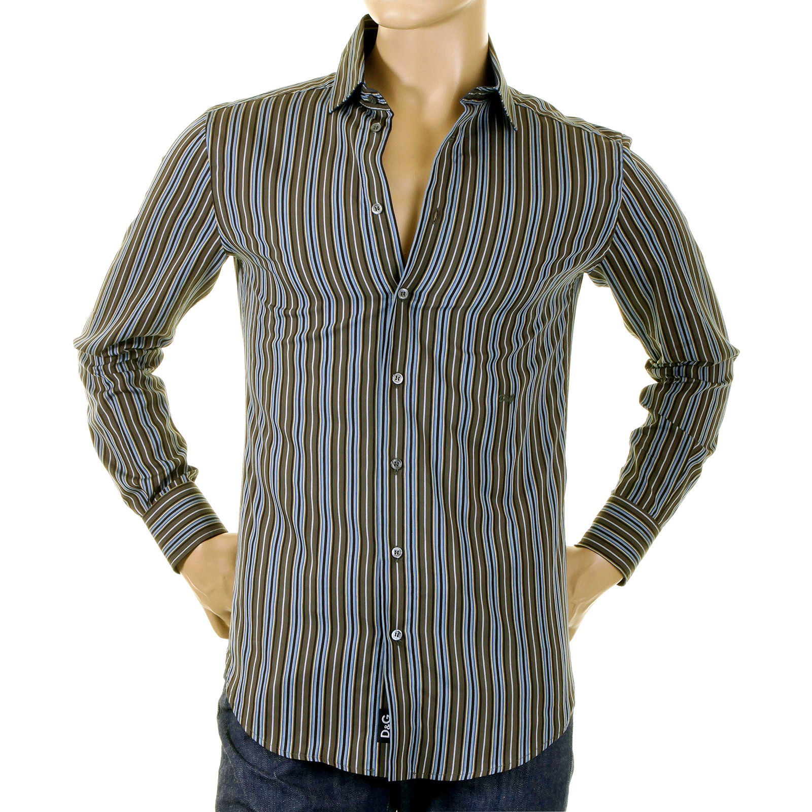 Mens Burberry Dress Shirt